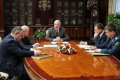 Участие в совещании у Главы государства