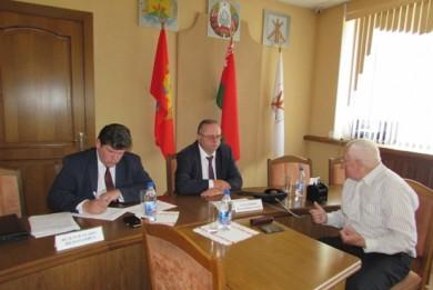 Прием граждан и «прямая линия» проведены в Бобруйске