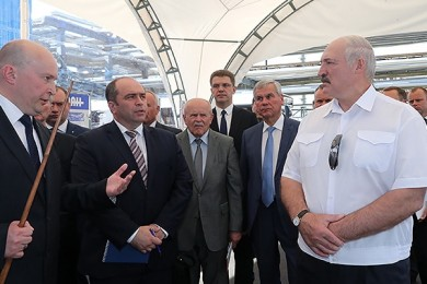 Participation in the working visit of the Head of State to the Vitebsk region