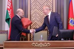 Коллективу Комитета государственного контроля представлен новый руководитель Иван Тертель