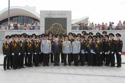 34 выпускника Академии МВД, обучавшихся в интересах органов финансовых расследований, получили погоны лейтенантов