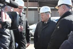 Председатель Комитета госконтроля посетил с рабочим визитом Молодеченский район
