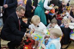 Сотрудники областных Комитетов госконтроля приняли участие в акции «Наши дети»