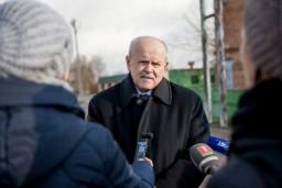 Председатель Комитета госконтроля Леонид Анфимов изучил положение дел на Домановском производственно-торговом комбинате