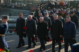 Председатель Комитета государственного контроля и работники контрольного ведомства почтили память воинов-интернационалистов