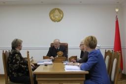 Леонид Анфимов провел личный прием в Администрации Главы государства