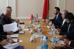 Состоялась встреча Председателя Комитета госконтроля Беларуси Леонида Анфимова и заместителя Председателя Центрального банка Ирана Маиба Якуби