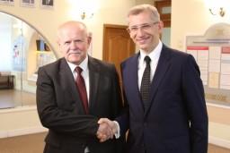 26 августа 2016 года Делегации высших органов финансового контроля Беларуси и Польши обсудили вопросы взаимного сотрудничества