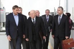 Леонид Анфимов посетил ООО «Салео» и провел встречу с работниками предприятия