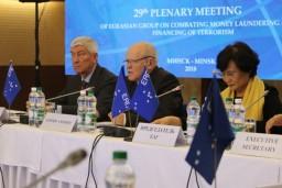 Леонид Анфимов принял участие в пленарном заседании Евразийской группы по борьбе с отмыванием денег и финансированием терроризма