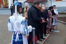 Леонид Анфимов принял участие в открытии нового детского сада в г.Лиде посетил ряд предприятий региона