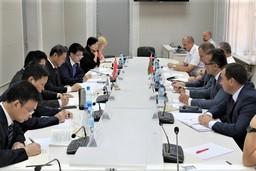 Представители КГК Брестской области и управления ДФР по Брестской области встретились с делегацией Парткома коммунистической партии Китая провинции Хубэй
