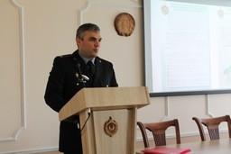 В Комитете государственного контроля Брестской области состоялось выездное учебное занятие на базе управления государственного комитета судебных экспертиз Республики Беларусь по Брестской области
