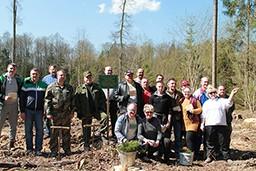 Работники КГК Гродненской области приняли активное участие в республиканском субботнике.