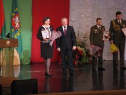 Сегодня состоялась торжественная церемония чествования обладателей почетного звания «Человек года Витебщины» по итогам 2015 года