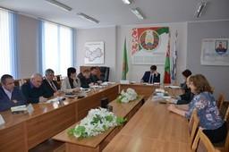 Председатель Комитета государственного контроля Витебской области В.В.Зарянкин 13.04.2018 провел «прямую линию» и прием граждан в Бешенковичском райисполкоме.