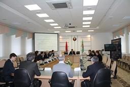 В Комитете государственного контроля Витебской области проведено совещание по вопросу   принимаемых мерах по завершению строительства многоквартирных жилых домов
