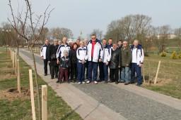 В Могилеве в Подниколье заложили аллею в честь 100-летия образования госконтроля Беларуси