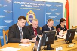 В Комитете госконтроля Могилевской области состоялся брифинг со средствами массовой информации по итогам контроля в 2017 году за проведением полевых работ в сельхозорганизациях области