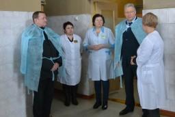 В рамках рабочего визита Алексей Игликов посетил Чериковскую центральную районную больницу