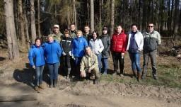 К 100-летию органов государственного контроля работники КГК Могилевской области высадили более 4 тыс. деревьев