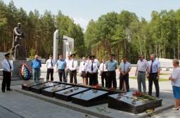 21 июня 2021 г. работники Комитета государственного контроля Гомельской области и финансовой милиции региона посетили мемориальный комплекс «Ола» в Светлогорском районе