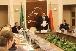 На коллегии Комитета государственного контроля  Гомельской области подведены итоги работы за 2018 год и определены основные задачи на 2019 год
