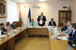 Коллегия Комитета государственного контроля Гомельской области подвела итоги работы в первом полугодии 2017 года