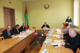 На коллегии Комитета государственного контроля Гомельской области рассмотрен вопрос «О наведении порядка на производственных объектах сельхозорганизаций области»