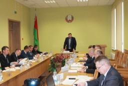 На коллегии Комитета государственного контроля Гомельской области рассмотрены вопросы развития кормового хозяйства в Гомельской области