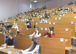 Начало ЦТ в Брестской области (телекомпания Буг-ТВ, программа «Новости»)
