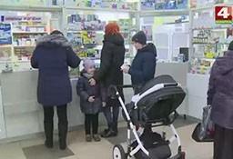 Госконтроль проверяет наличие в аптеках противовирусных средств защиты (телеканал «Беларусь-4», программа «Новости Гродно»).